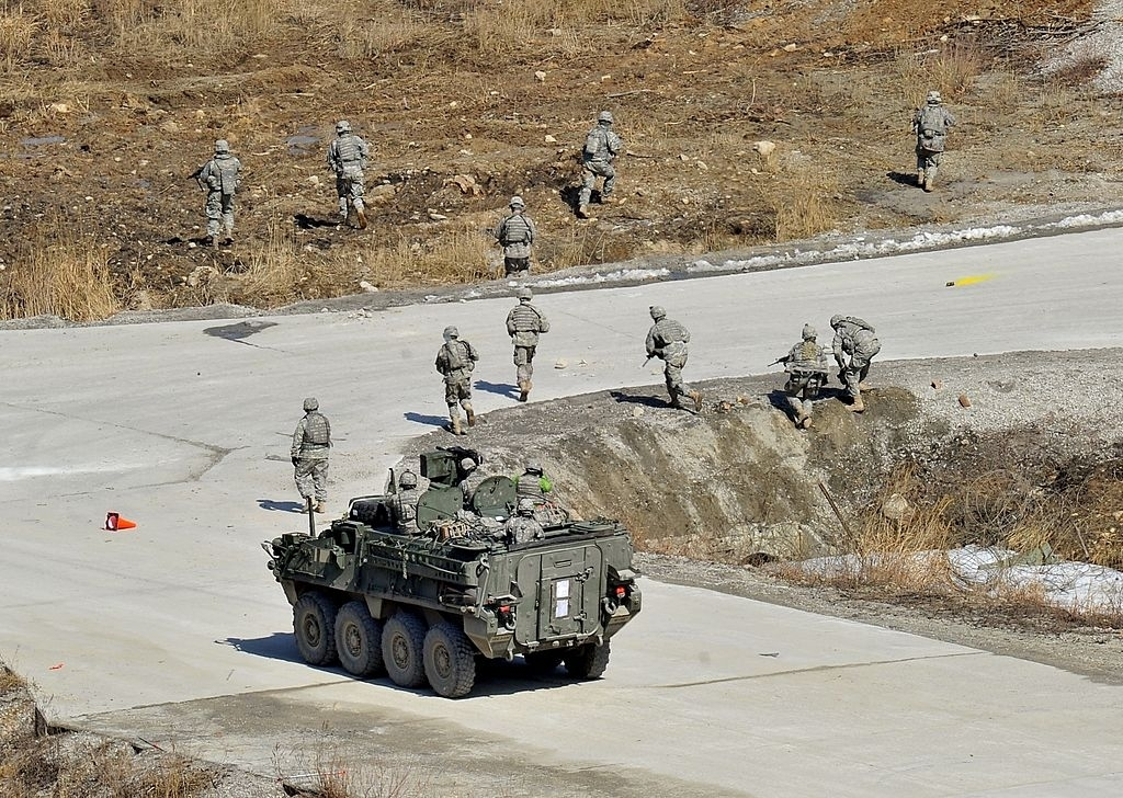 US Army tests upgraded Stryker vehicles
