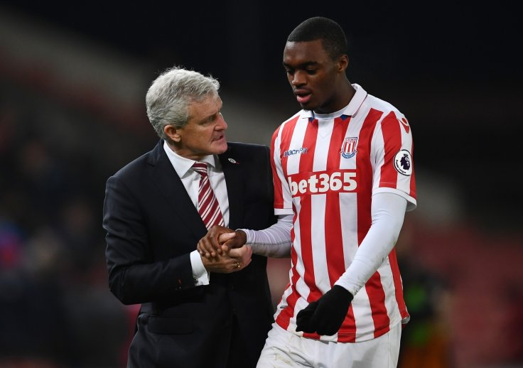 Mark Hughes and Julien Ngoy