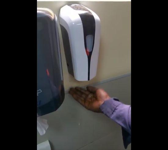 Racist soap dispenser Facebook