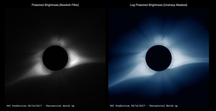Solar eclipse 2017 computer simulation