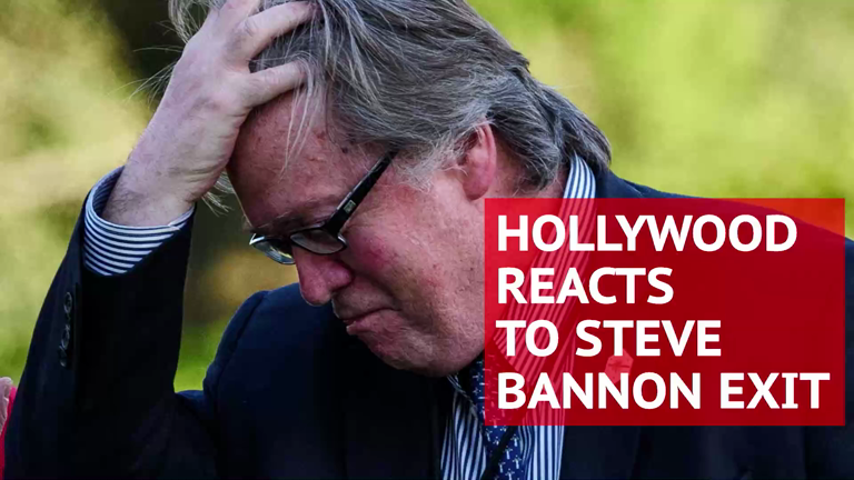 Steve Bannon exit: Hollywood celebrities waste no time celebrating on Twitter