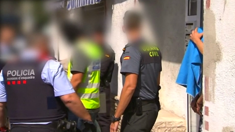 Third suspect arrested for involvement in terror attacks in Spain