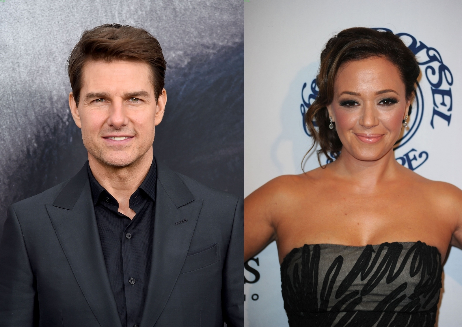 Tom Cruise and Leah Remini
