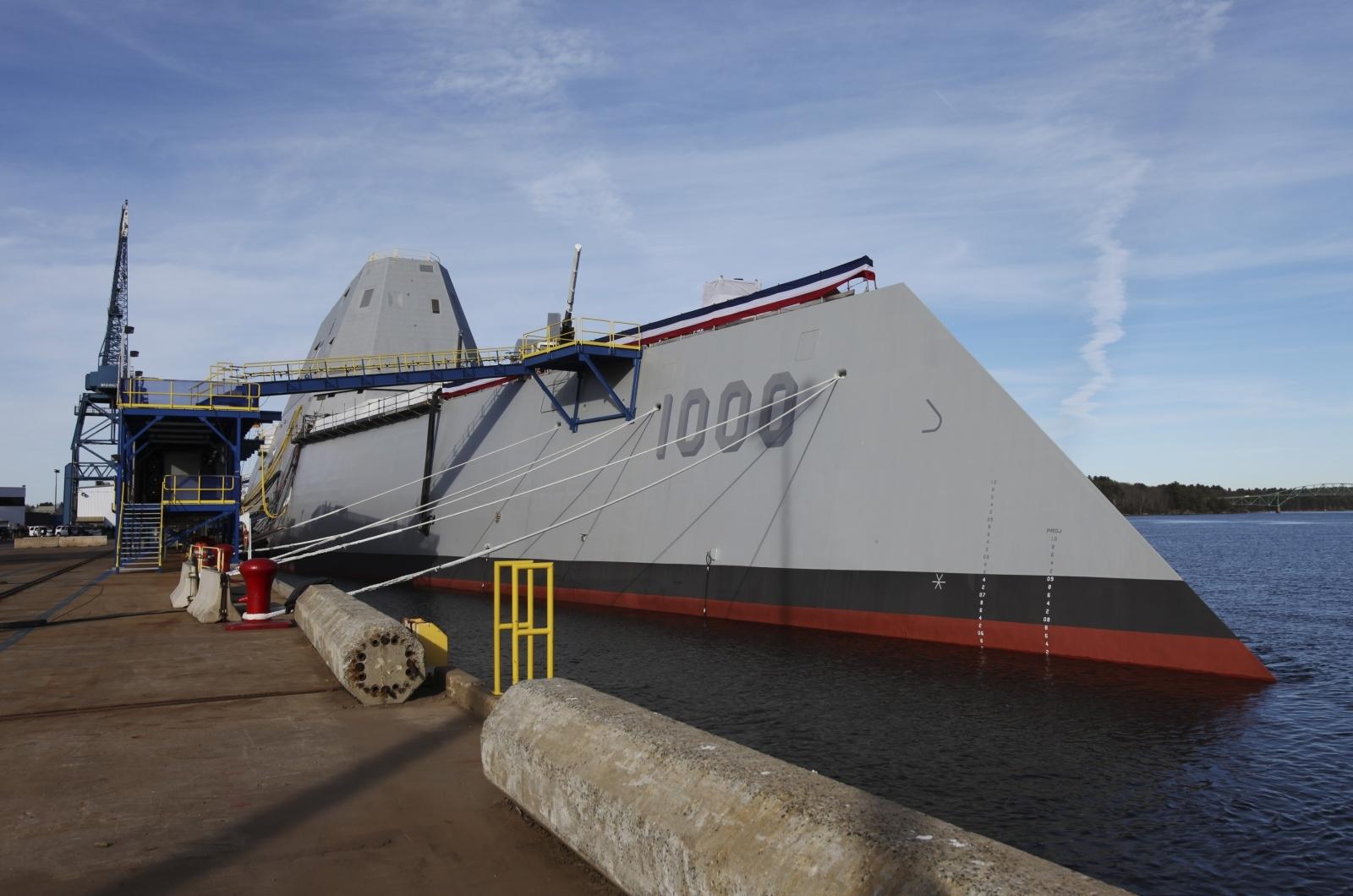US Navy testing electromagnetic rail gun
