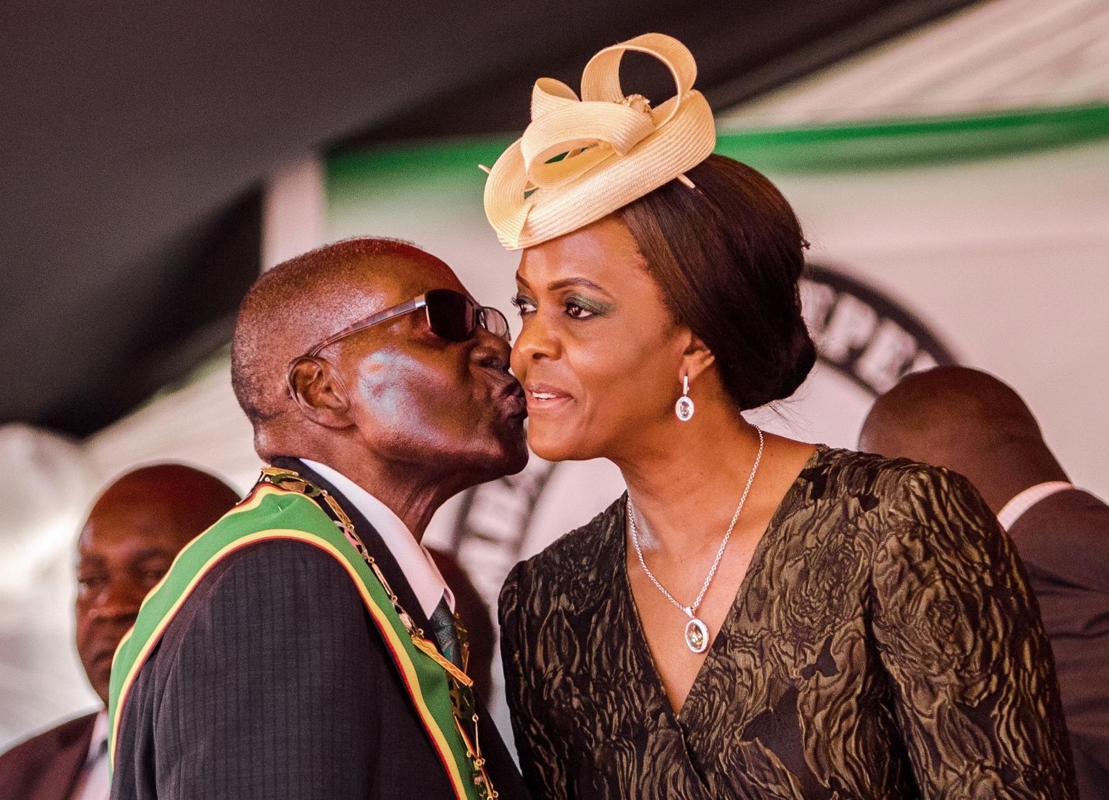 Robert Grace Mugabe zimbabwe