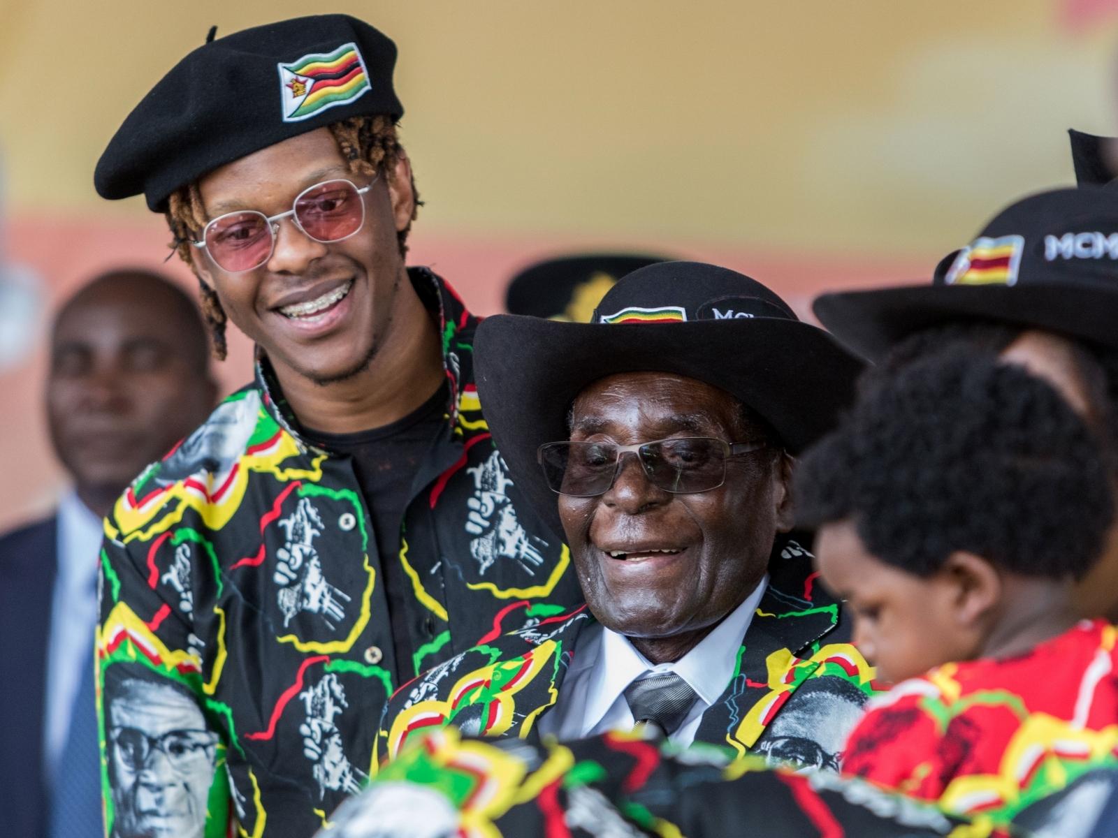 Robert Mugabe Jr Zimbabwe