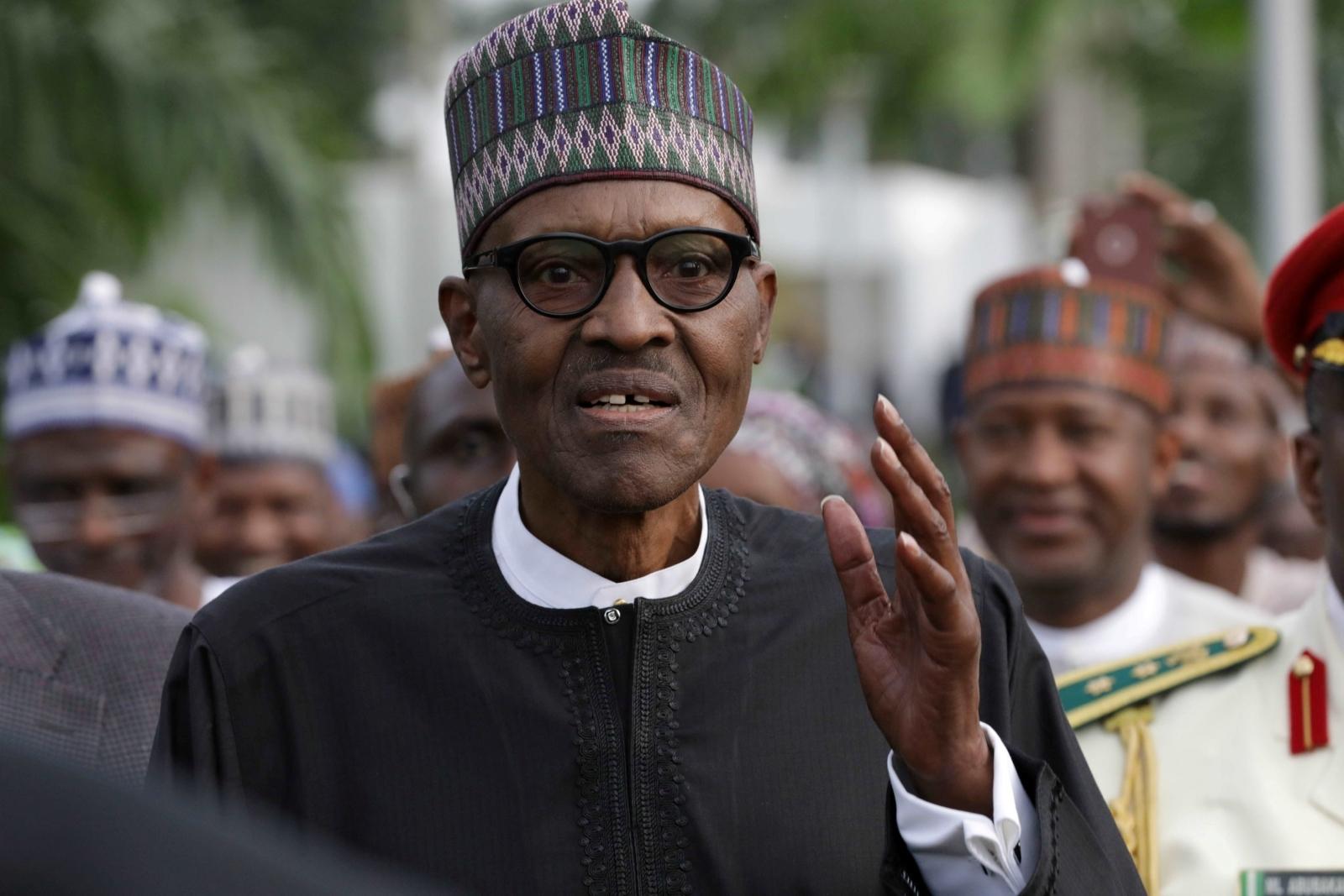 Muhammadu Buhari Nigeria President