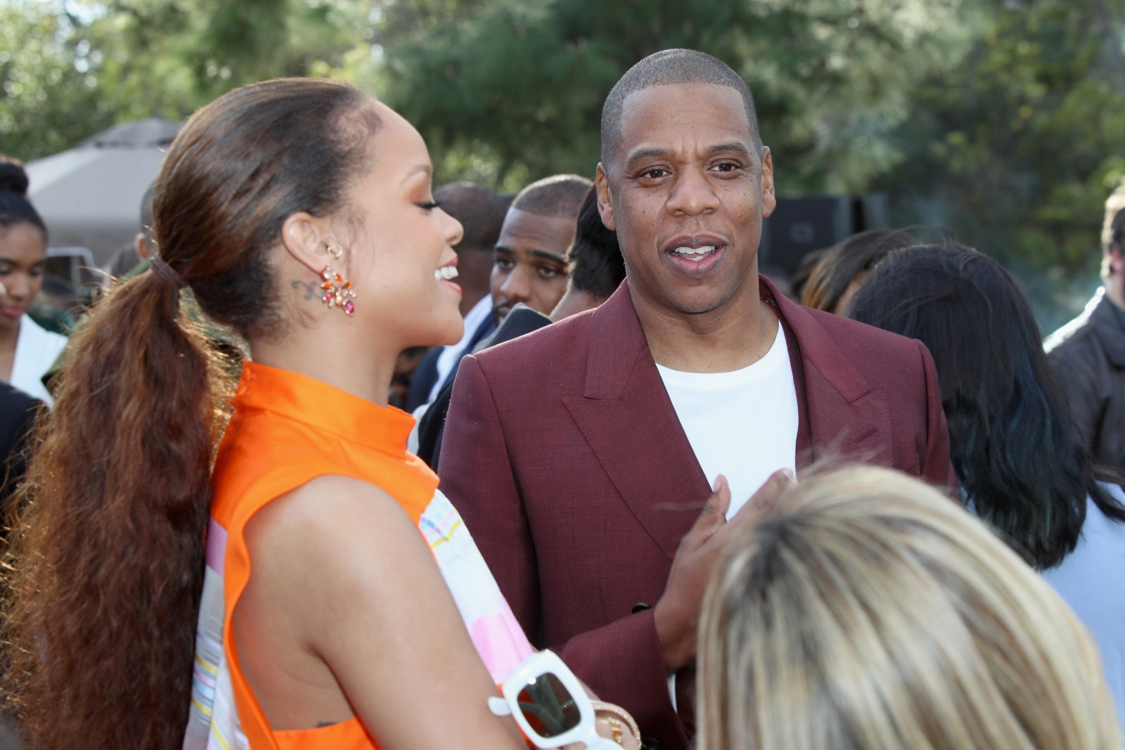 Jay-Z and Rihanna