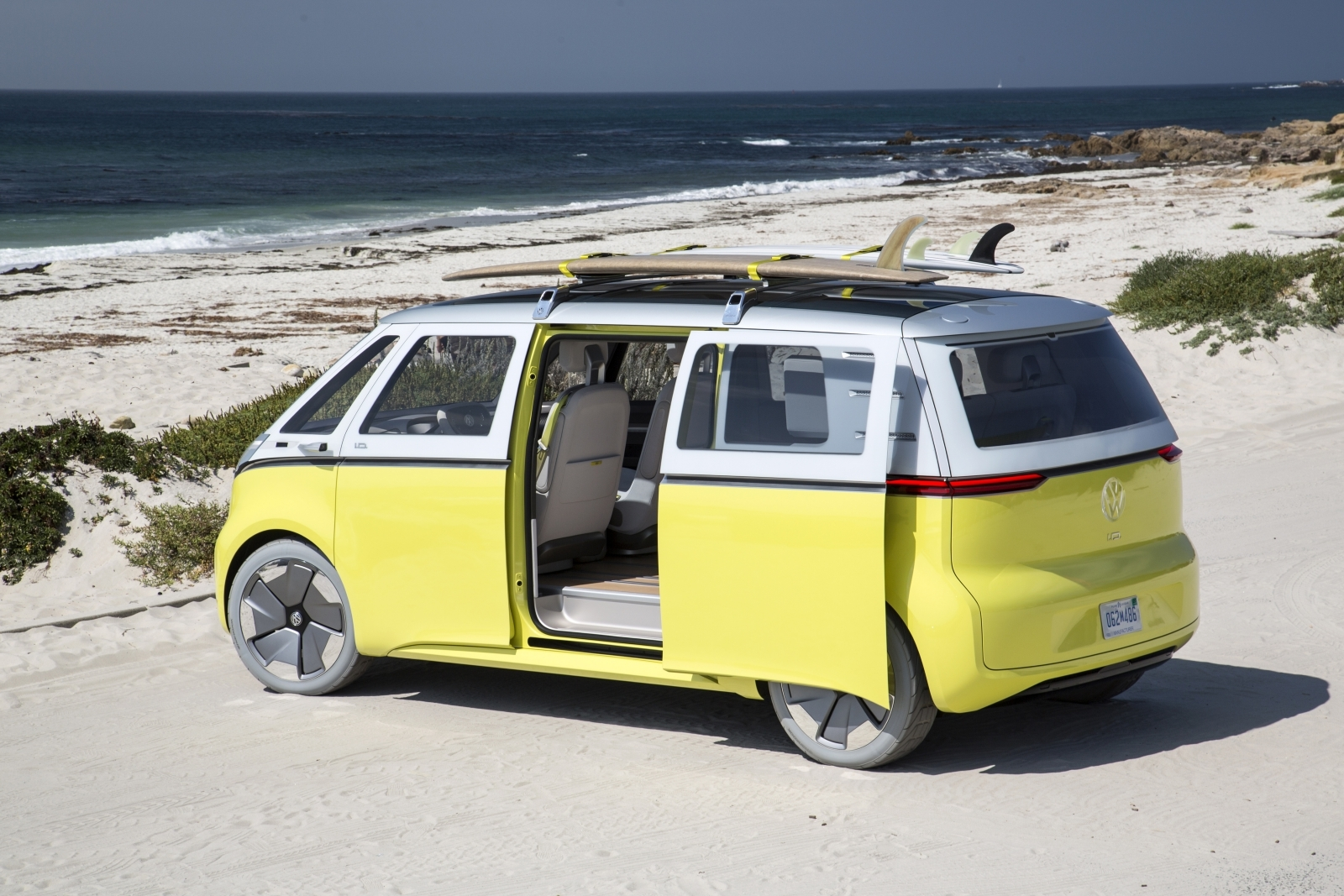 iconic vw campervan to make electric comeback as id buzz in 2022
