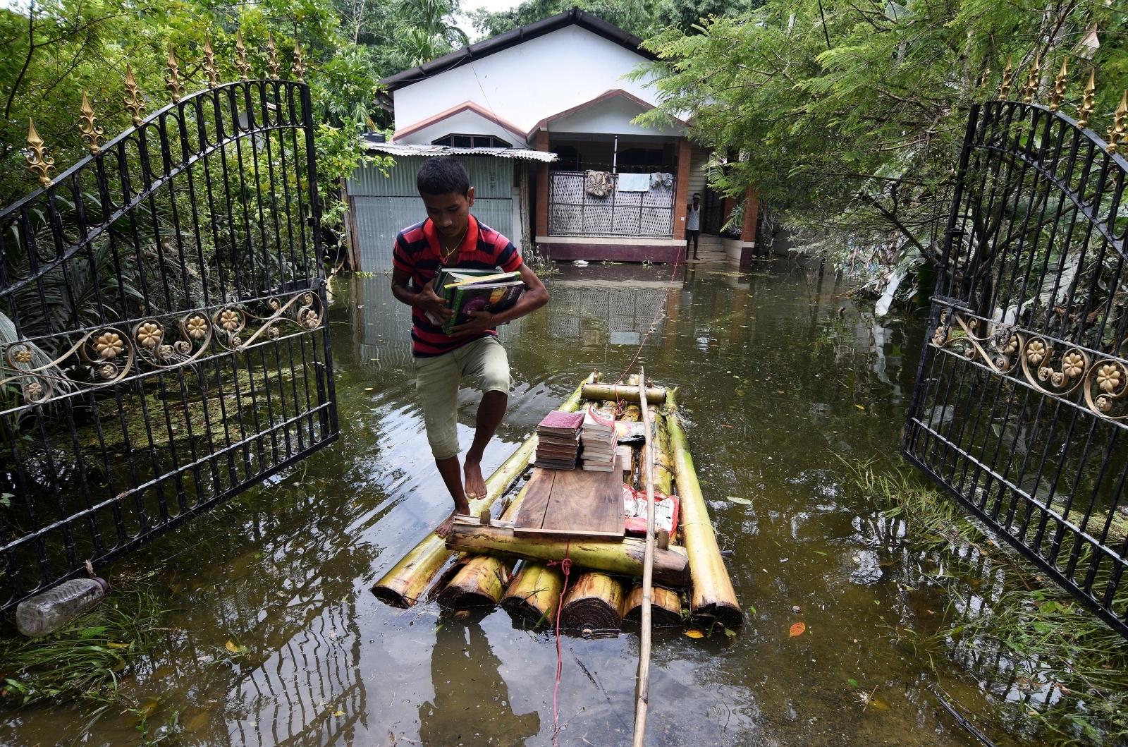 Monsoon floods