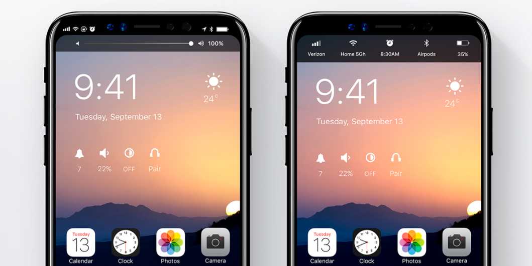 iPhone 9 iOS 12 concept