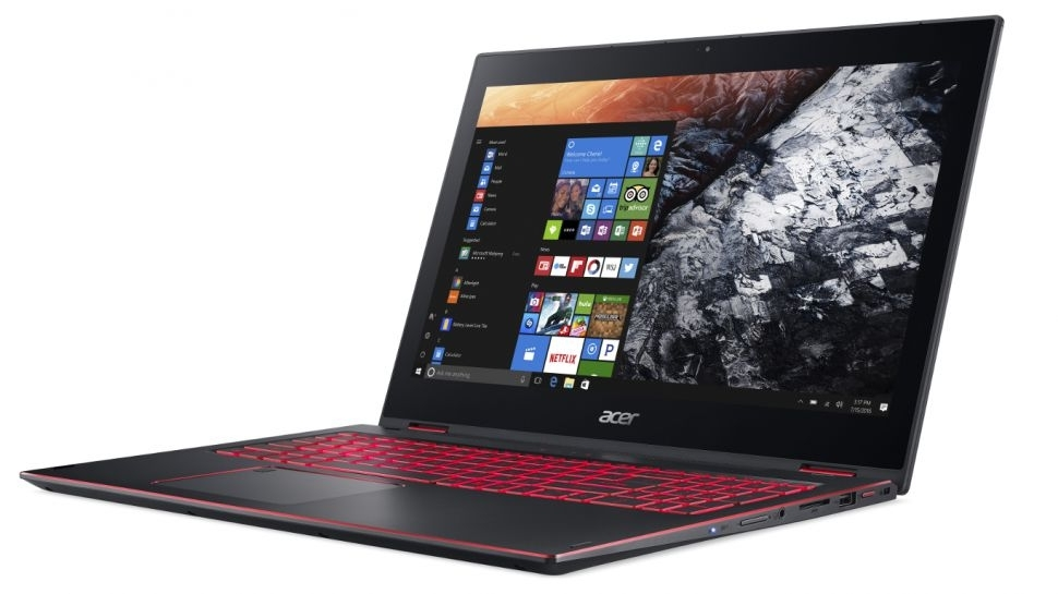 Acer unveils the Nitro 5 Spin, a convertible laptop for casual gamers