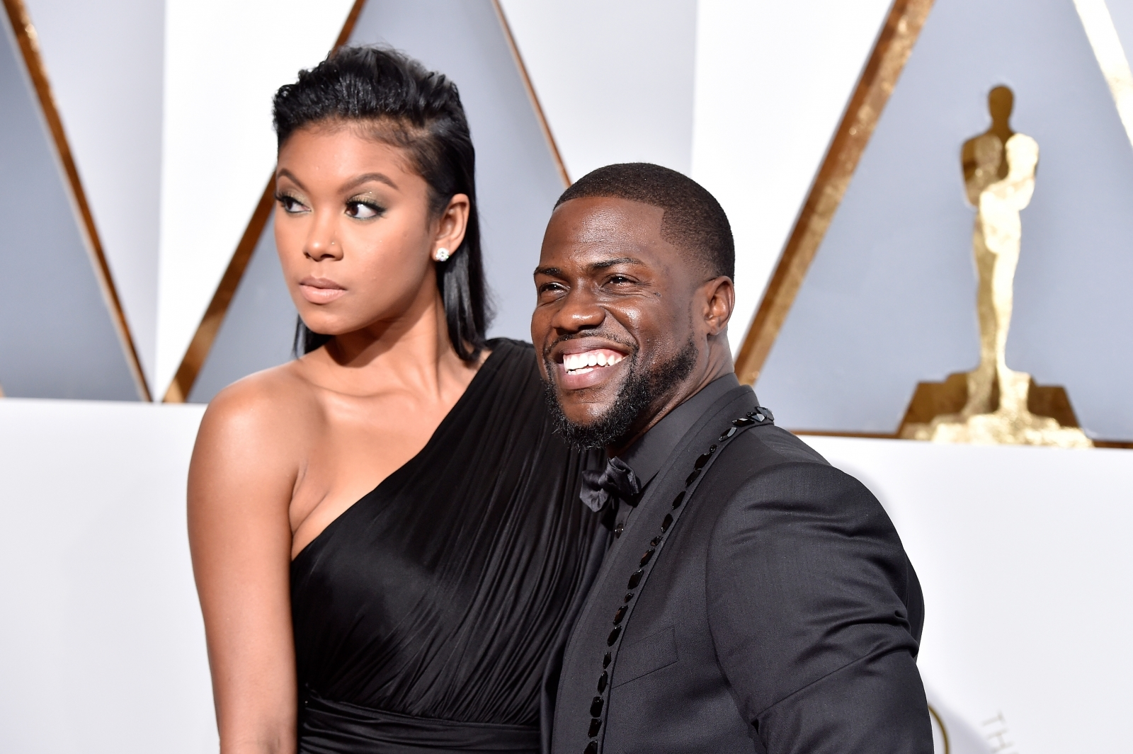 Kevin Hart and wife Eniko welcome newborn
