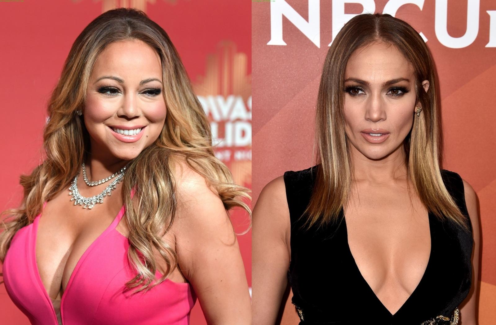 Mariah Carey and Jennifer Lopez