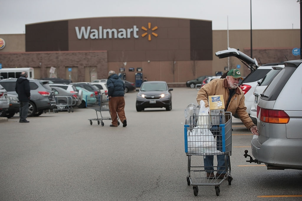Walmart patents drone delivery tech