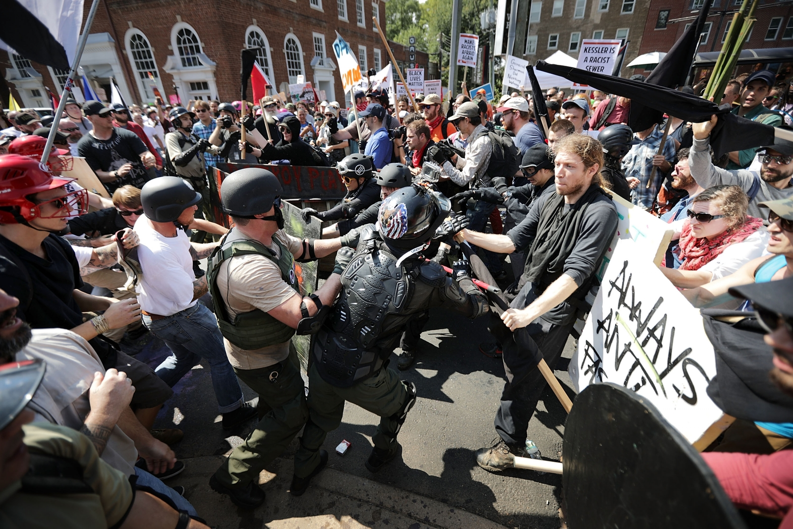 Protests Break Out At Charlottesville City Council Meeting