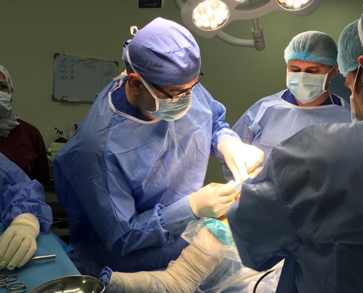 Meet the hero London surgeons in Iraq treating impoverished