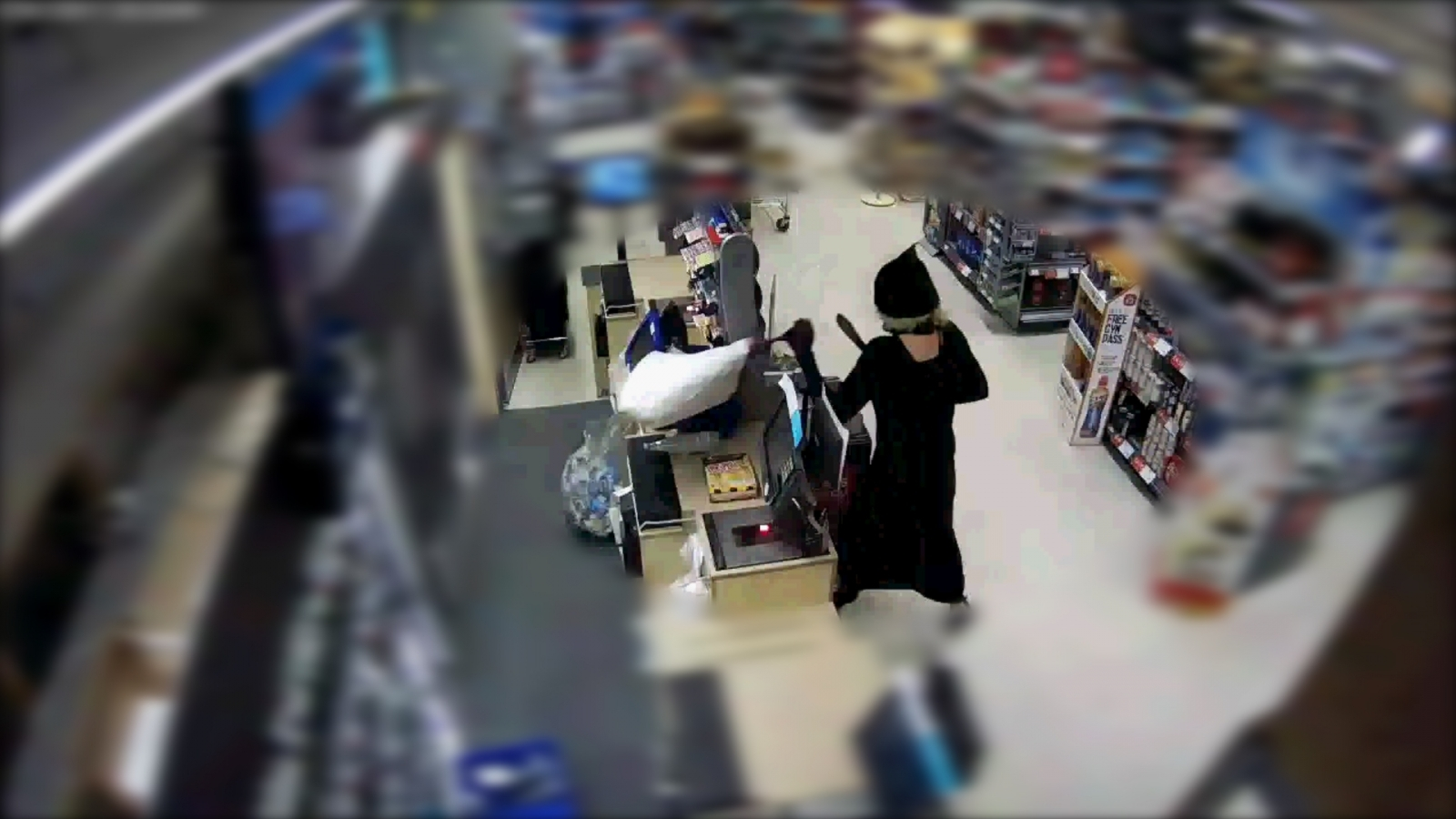 Machete-wielding drug addict robbed Co-op in a witch costume
