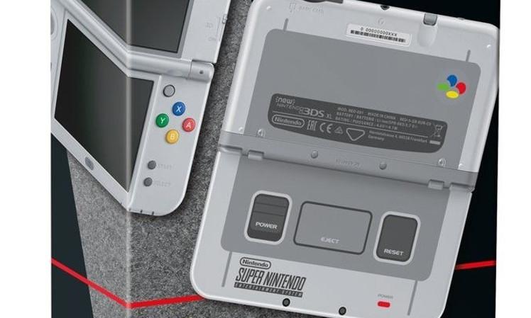 SNES 3DS Nintendo
