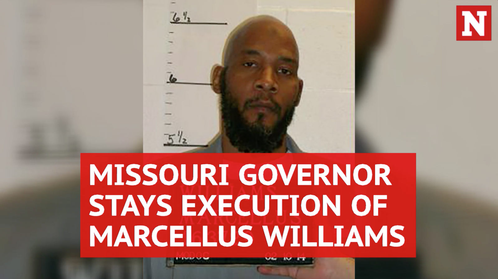 Missouri governor stays execution of Marcellus Williams