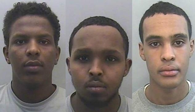 Abukar, Kadir and Mohammed