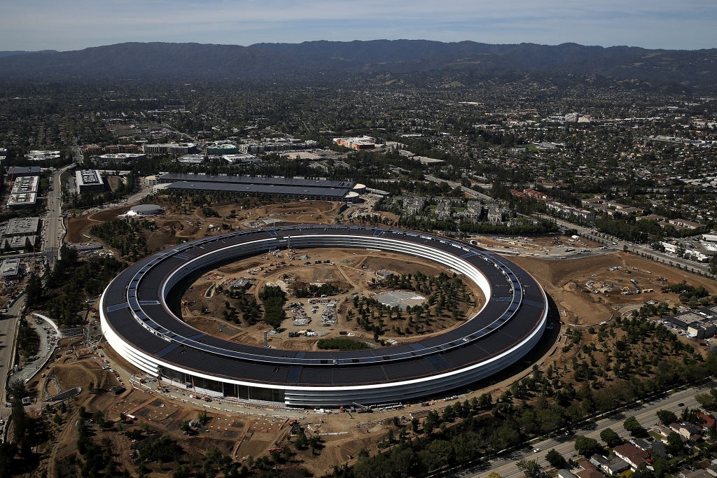 Apple Park headquaters