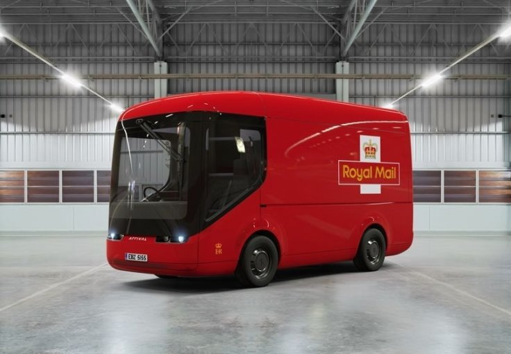 Royal Mail S New All Electric Vans Take To The Streets Of
