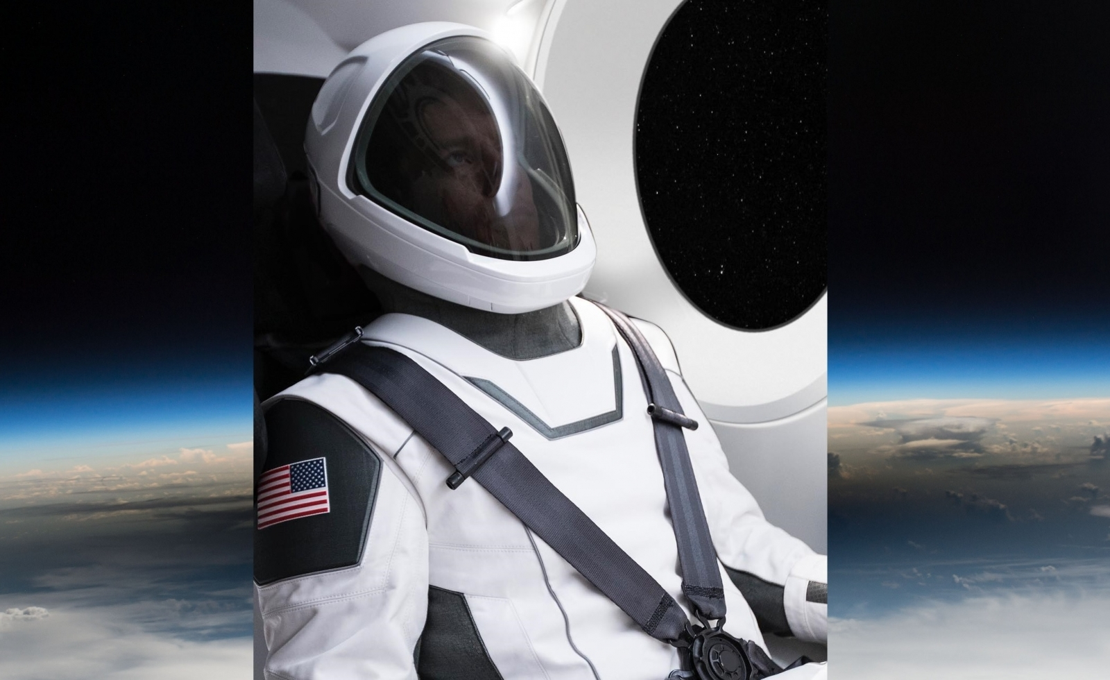Elon Musk Shows Off First SpaceX Spacesuit