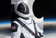 Elon Musk SpaceX space suit