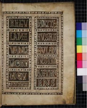 Fortunatianus manuscript