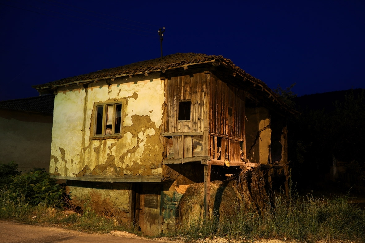 Serbia depopulation ghost villages abandoned