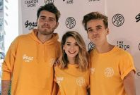 Zoella, Alfie and Joe Sugg