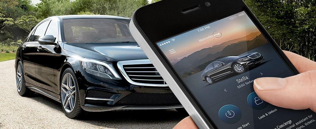 Mercedes GPS mbrace app