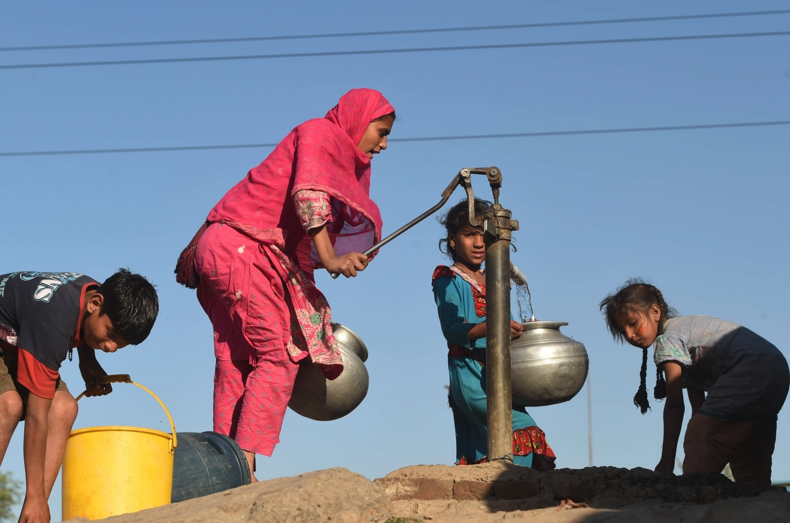 Pakistan water pump