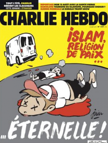 Charlie Hebdo Barcelona cartoon