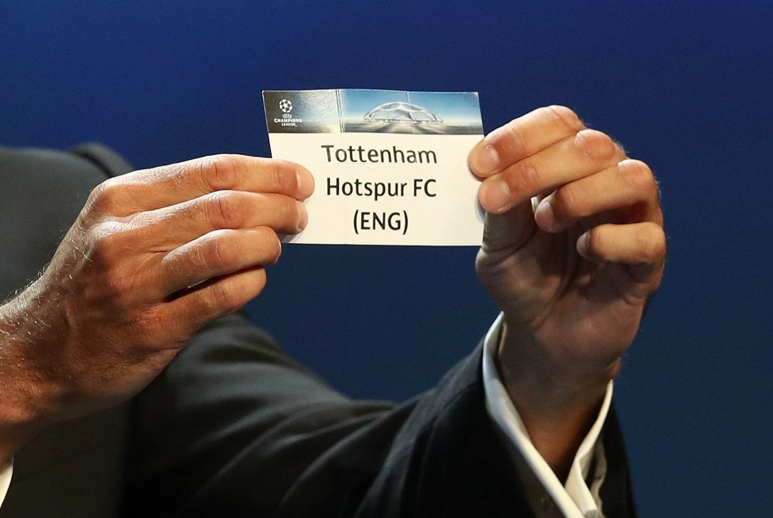 Spurs to meet Real Madrid in the Champions League — Tottenham Hotspur
