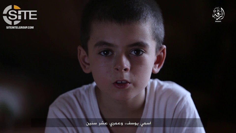ISIS Propaganda Video Uses American Child