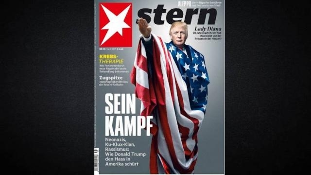 Stern cover on US President Donald Trump