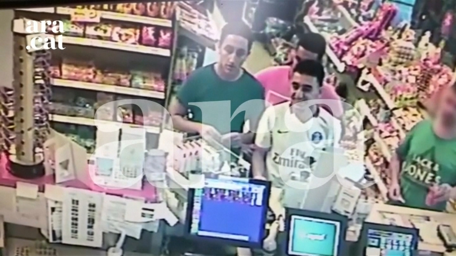 Barcelona Suspects Caught on CCTV Buying Food Hours Before Deadly Terror Attack