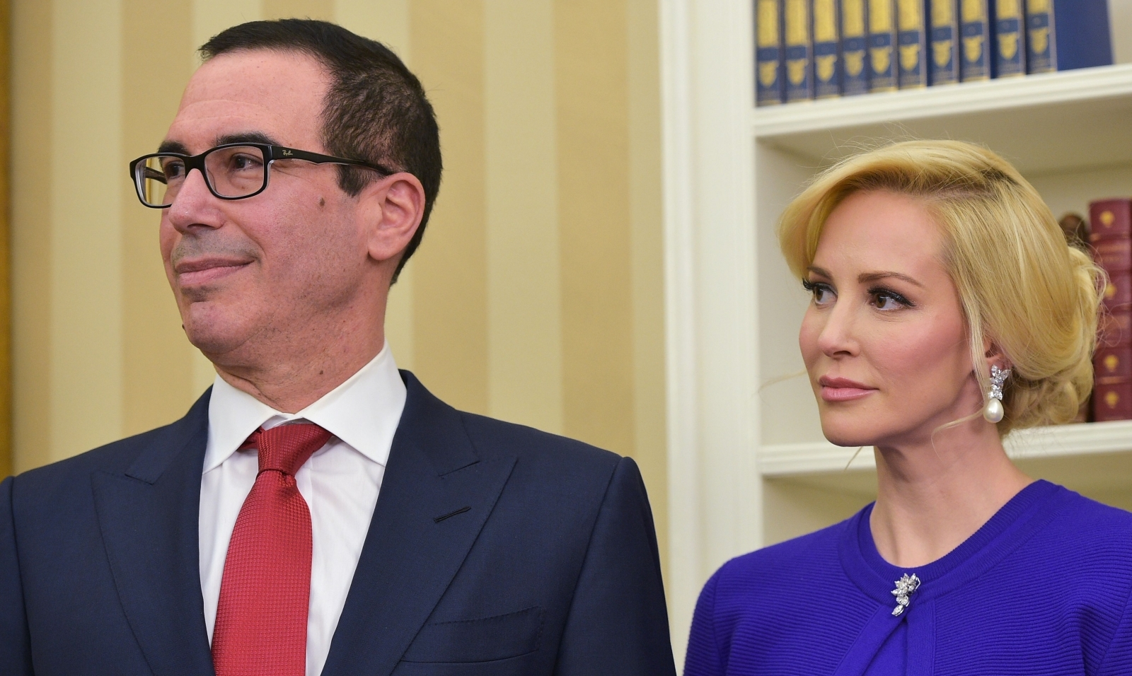 Watchdog requests documents about Mnuchin and wife's Ky. trip timed with eclipse