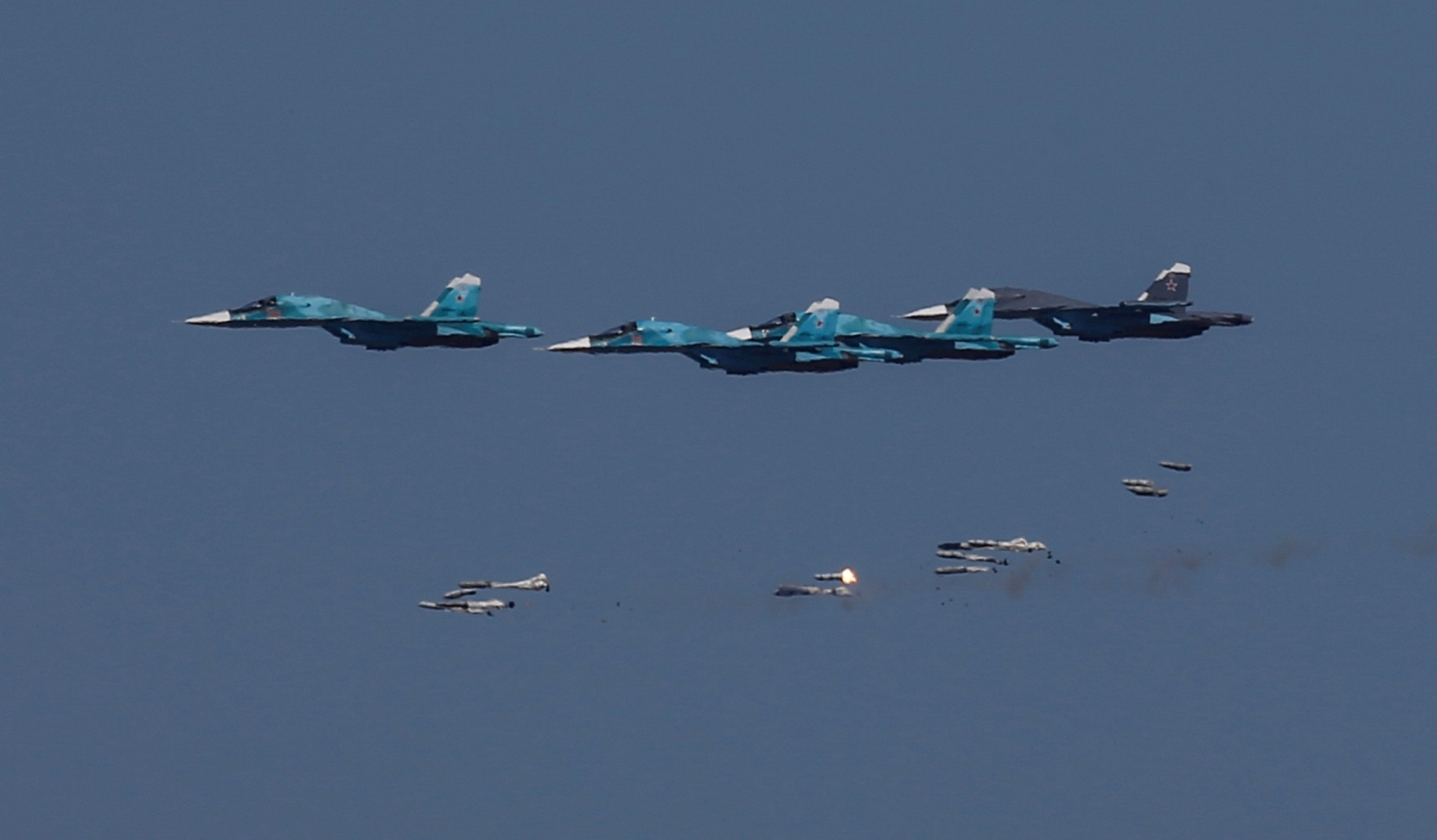 Russian nuclear-capable bombers fly near N Korea