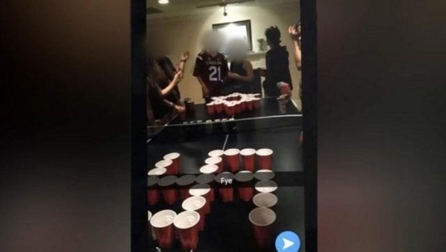 Georgia students disciplined for 'Jews vs. Nazis' beer pong game