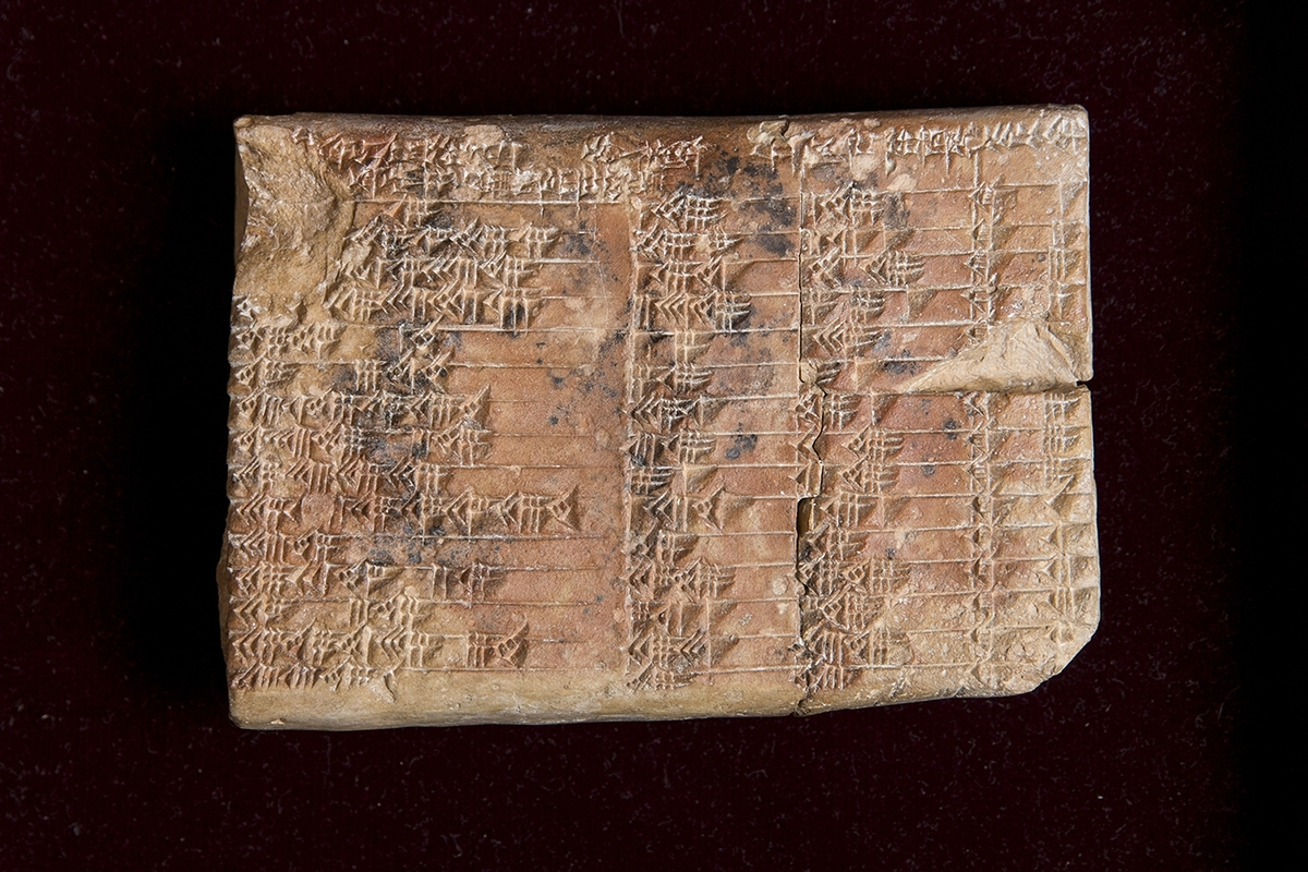 Ancient Clay Tablet Holds Modern-Day Mathematics Applications