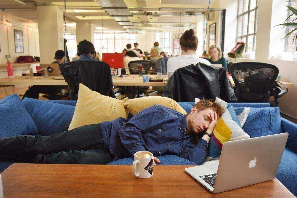 Office Hangover
