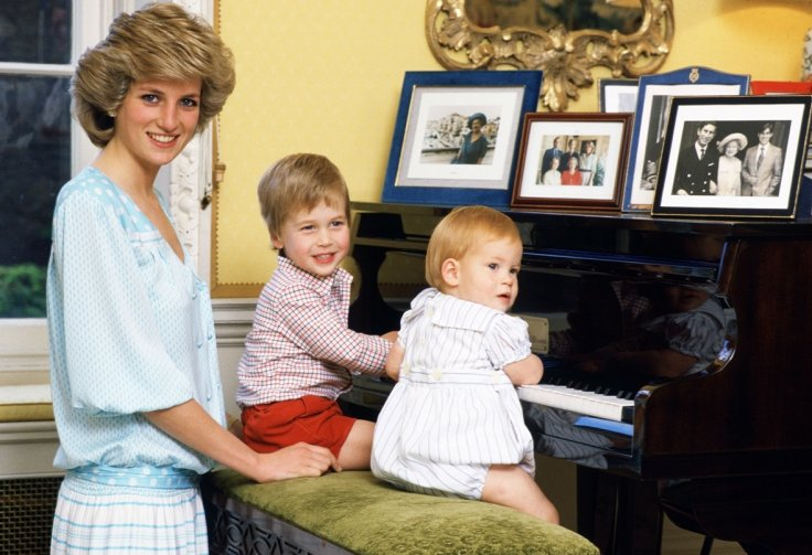 Naughty Prince Harry gets into trouble with mother Princess Diana in childhood video