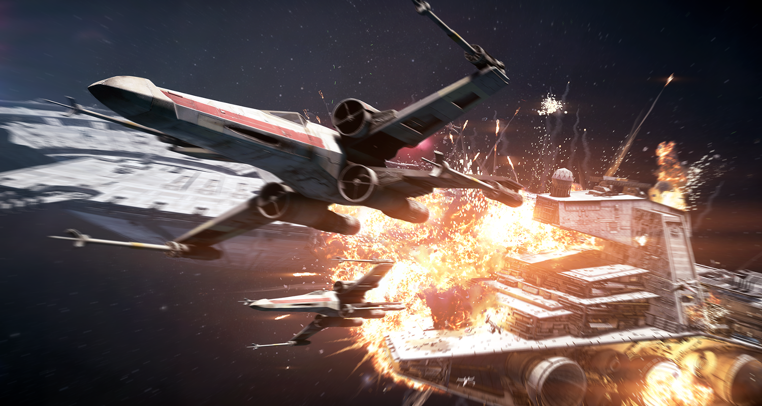Star Wars Battlefront 2 Starfighter Assault