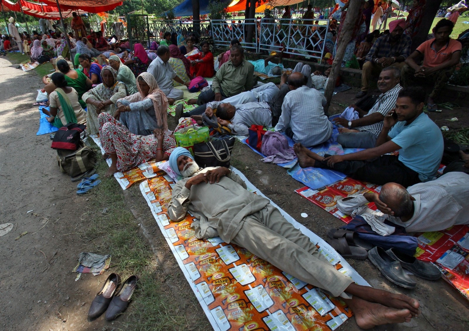 Gurmeet Ram Rahim Singh supporters