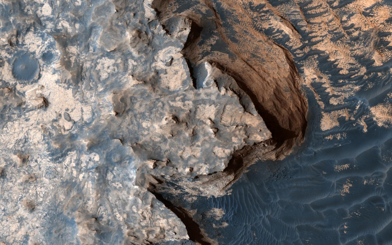 Martian dunes