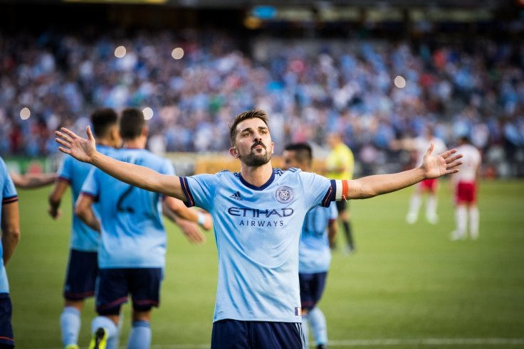 107d05b1d David Villa has scored 60 goals in 90 appearances for New York City since  2014. Getty