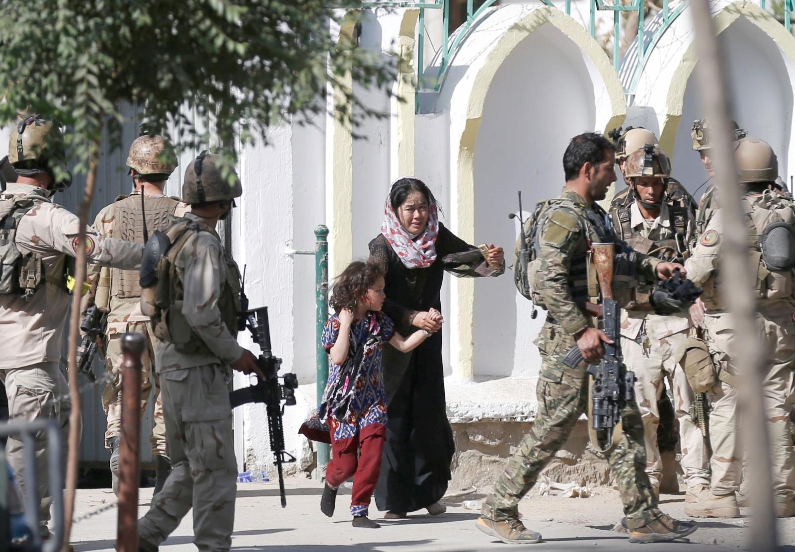 Kabul suicide bombing